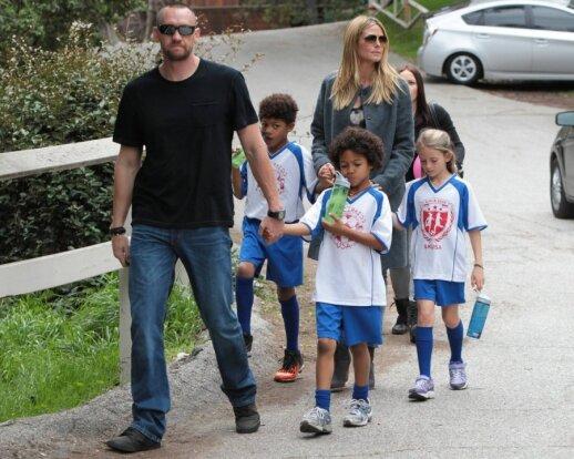 Heidi Klum su šeima