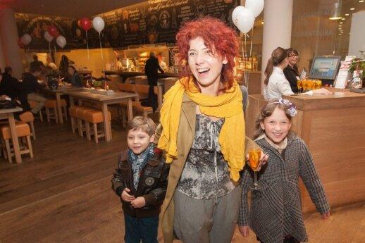 Redita Dominaitytė su vaikais