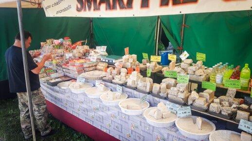 Helas, Lenkija, lenkiški sūriai turguje