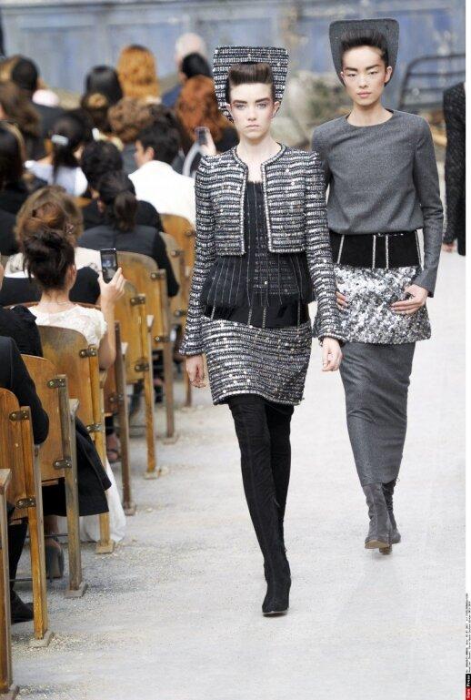 """""""Chanel"""" 2013-2014 m. ruduo ir žiema, aukštoji mada"""
