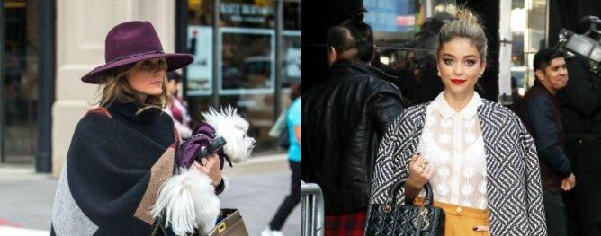 Žvaigždė gatvėje: Olivia Palermo prieš Sarą Hyland(BALSUOK IR LAIMĖK!)