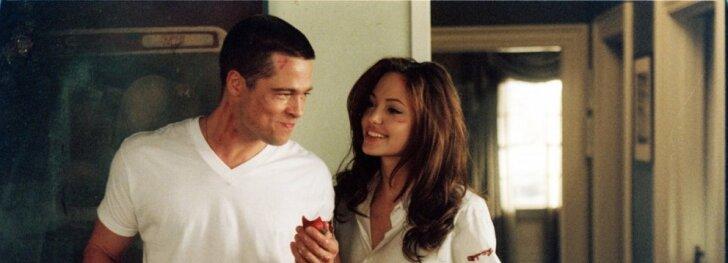 Gražiausios aktorių poros, meilę radusios filmavimo aikštelėje(FOTO)