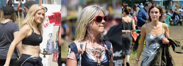 PAMATYK: Glastonburio festivalio stiliukas (FOTO)