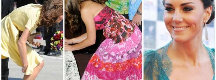 7 kartai, kai  Kate Middleton  sulaužė karališkųjų rūmų stiliaus taisykles