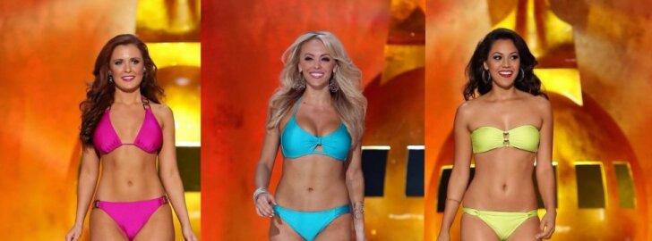 """""""Miss Amerika"""" dalyvės - ne  kaulų rinkinukai  (foto)"""