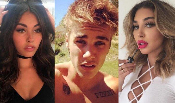 5 gražiausios Justino Bieberio eksės, nuo kurių neina atitraukti akių (FOTO)