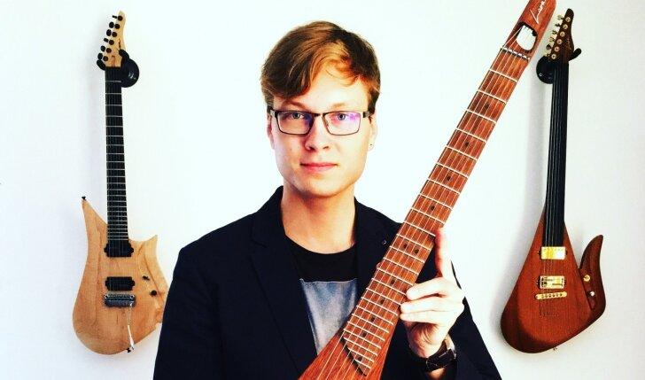 Dizaineris pomėgį groti gitara pavertė visame pasaulyje garsėjančiu verslu