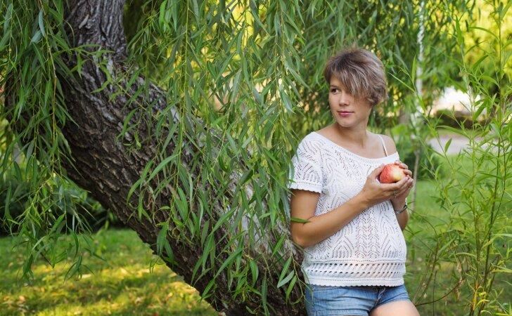 Nėščiosios mitybos problemos: kaip sau padėti be vaistų