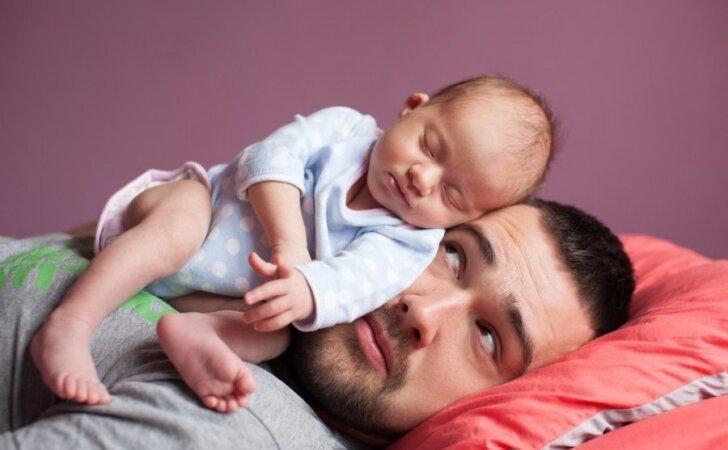 Jūs nustebsite sužinoję, kodėl vyrai BIJO tapti tėčiais
