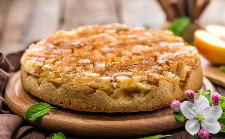 Vienas skaniausių visų laikų obuolių pyragų