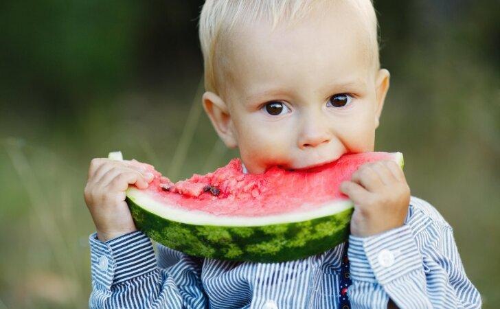 Kaip patikrinti, ar arbūzas užaugintas su nitratais