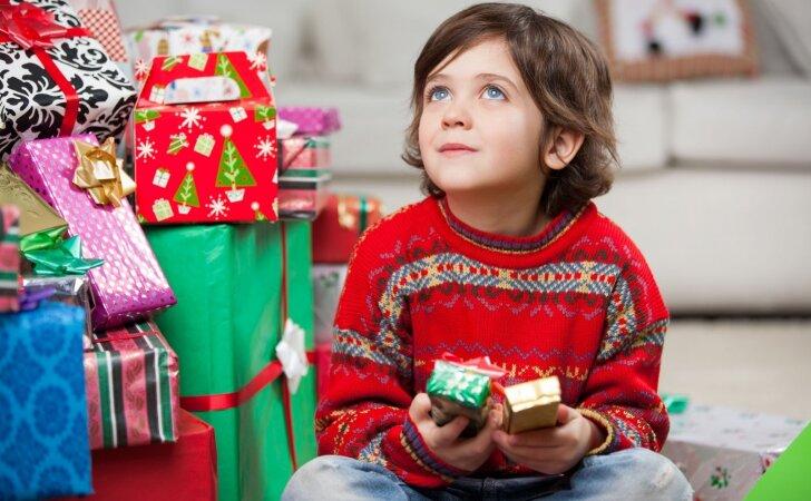 Vienas paprastas būdas išmokyti vaiką vertinti gaunamas dovanas