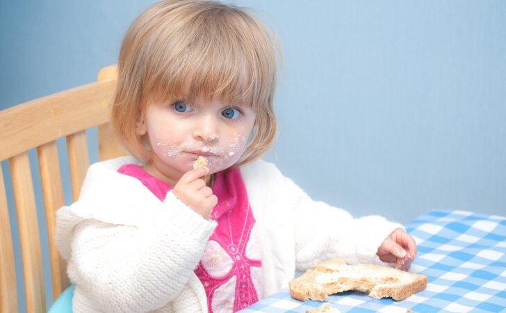 Jeigu jūsų vaikas nevalgus, išbandykite šias gudrybes