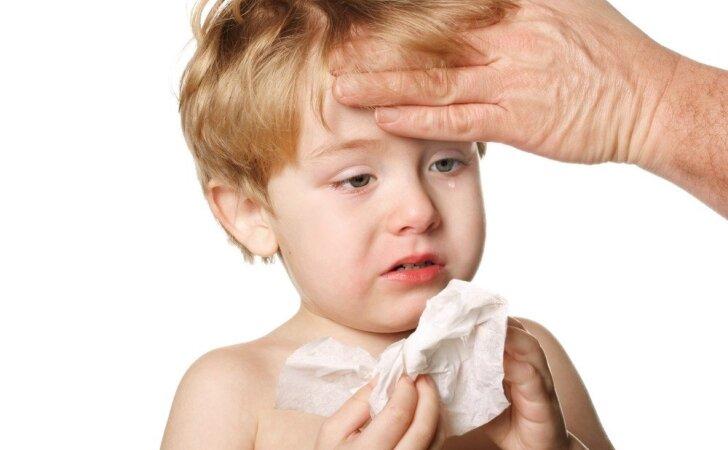 Vaikas peršalo? Liga gali būti visai kita