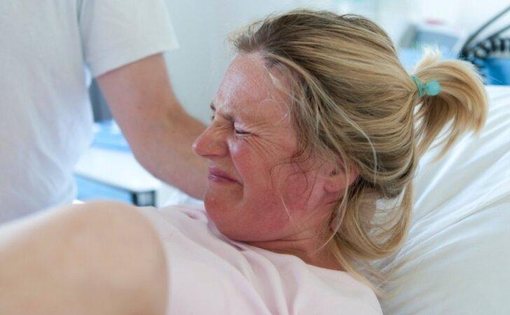 Kaip sau padėti gimdant: pataria gydytoja