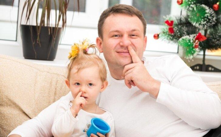 Daugėja tėčių, norinčių išeiti tėvystės atostogų