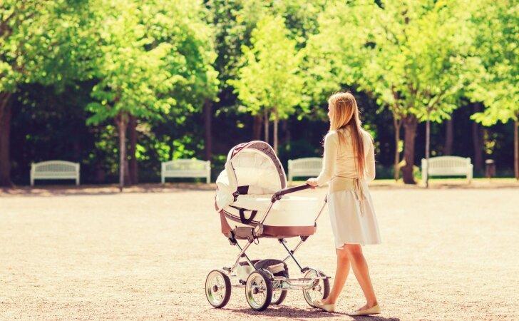 Gera mama gimstama ar išmokstama būti