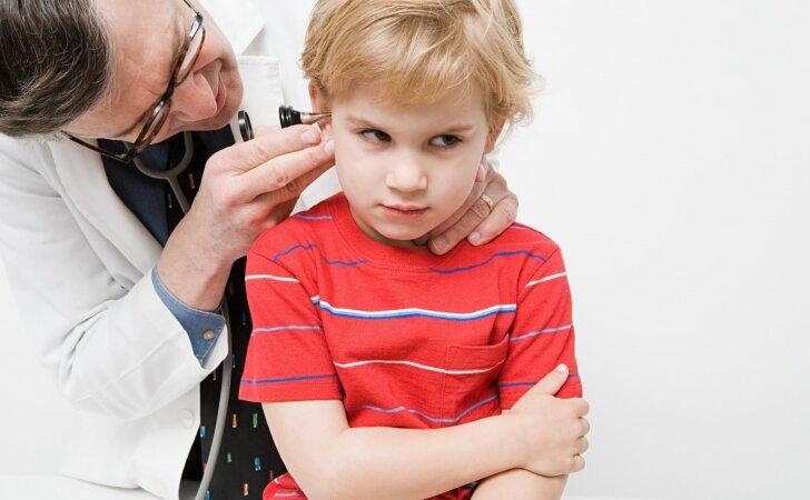 Šiemet per pusmetį užregistruota daugiau susirgimų pneumokokine infekcija