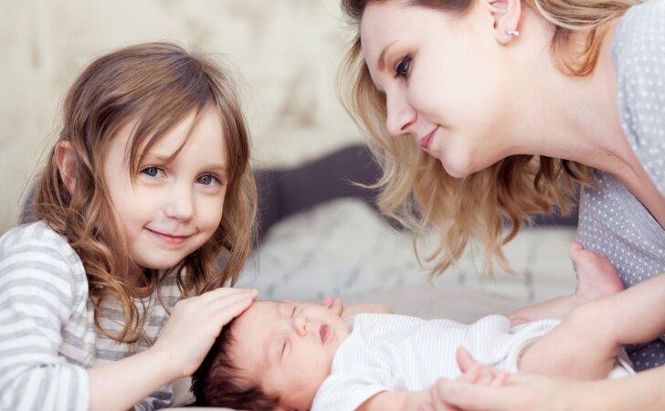 Ugnė: gimus sesei, į blogą pusę pasikeitė vyresnėlės elgesys