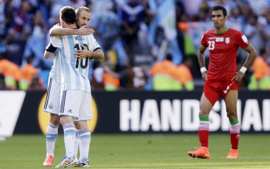 Аргентина - Иран: Месси в добавленное время принес своей команде победу