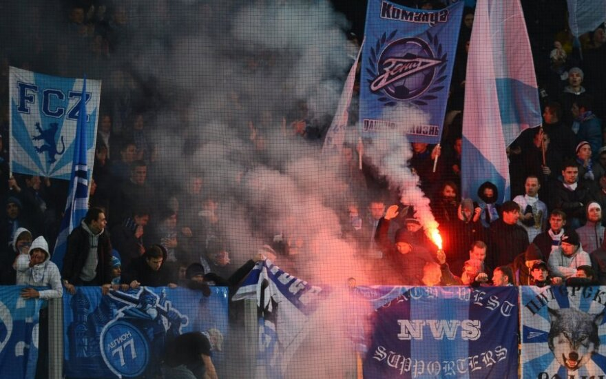 """Zenit"" klubo fanai"