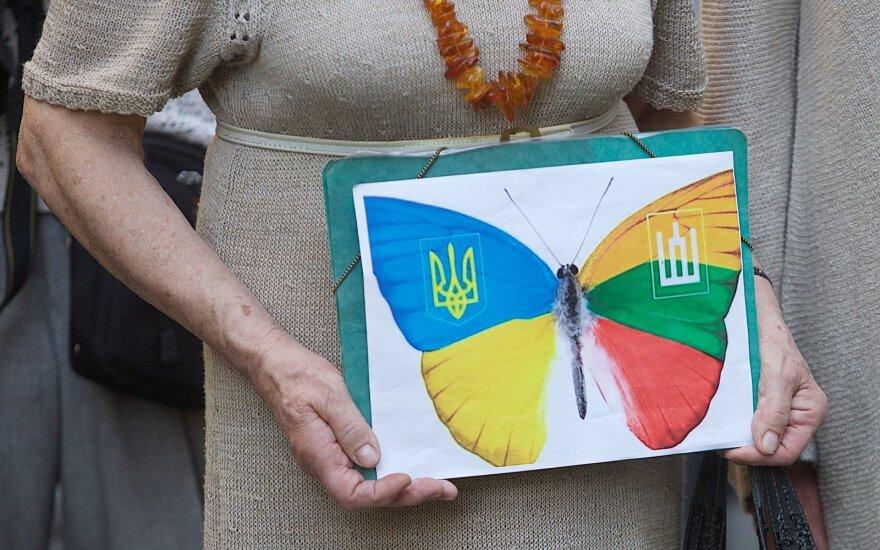 Литва поздравляет Украину с Днем независимости и обещает продолжать помощь