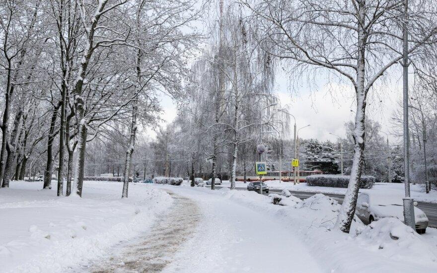 Эта зима в Литве от прошлой будет отличаться существенно: уже ясно, что снег будет