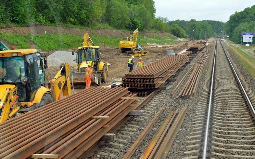 Rail Baltica в Литве может пройти через Паневежис, а не Шяуляй