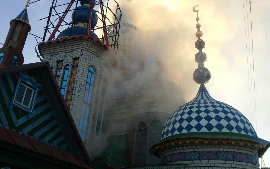 МЧС России: казанский Храм всех религий подожгли умышленно