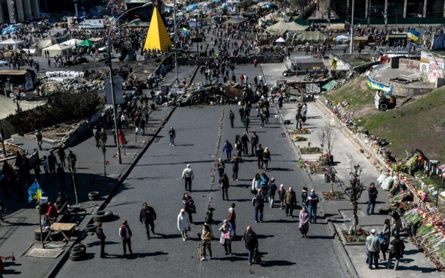 На Майдане опять беспорядки