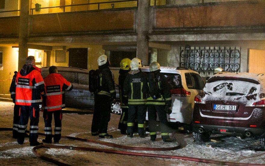 Взрыв в Вильнюсе: мужчина погиб, женщина ранена