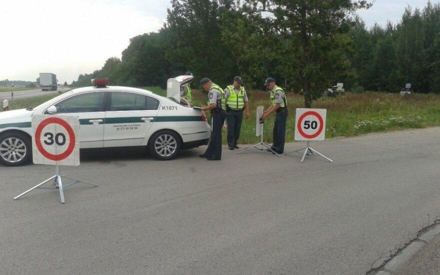 Каунасские полицейские проводят рейды ежедневно, результаты поражают