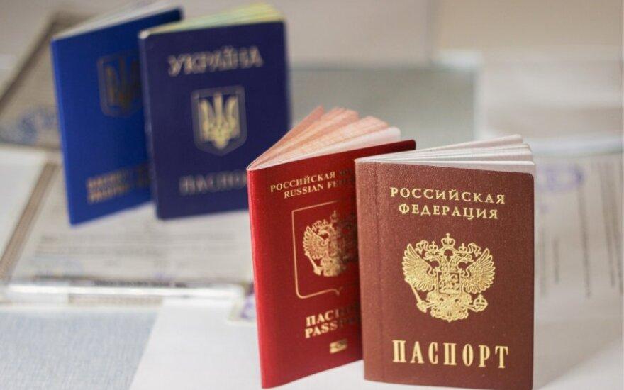 ES užsienio reikalų ministrai aptars rusiškų pasų išdavimą Rytų Ukrainos gyventojams