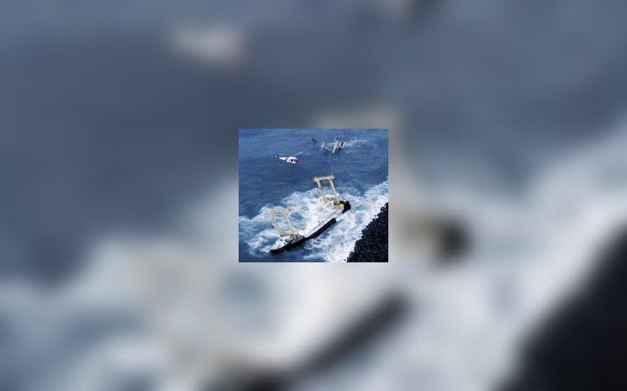 Французские власти задержали танкер с российским экипажем