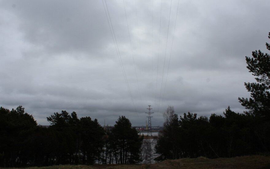 В Неринге возобновили поставки электроэнергии