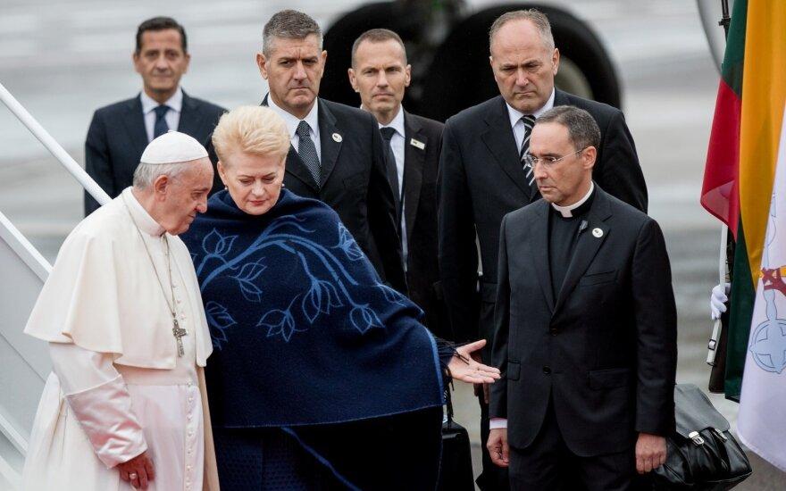 Папа римский Франциск обратился к жителям Литвы