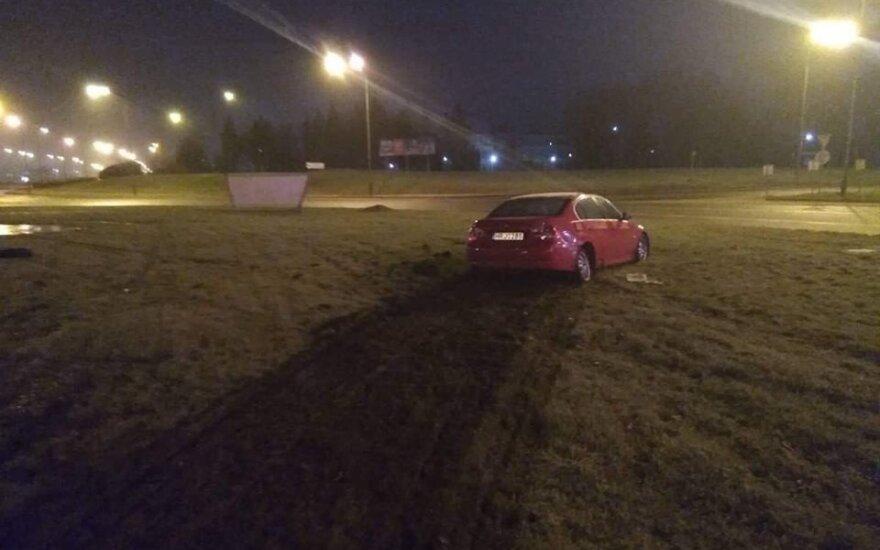 В Клайпеде произошло ДТП с участием нетрезвого водителя, в машине был ребенок