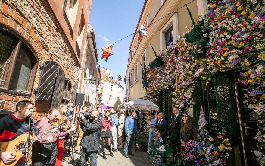 В эти выходные в Вильнюсе – Венецианский карнавал в районе Ужупис