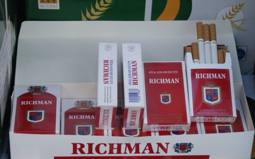 В Клайпеде обнаружена контрабанда сигарет на 1,5 млн. литов