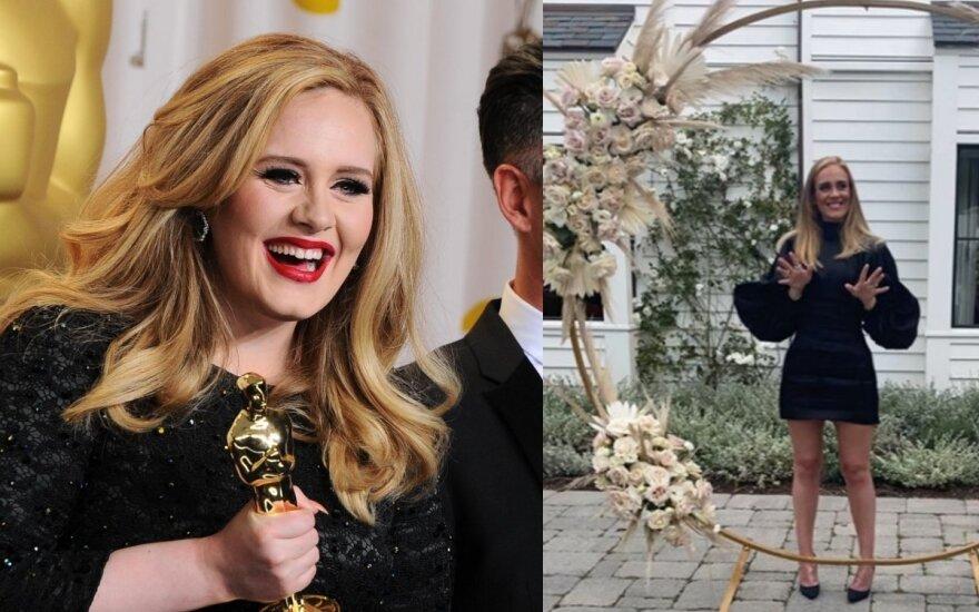 Atlikėja Adele / Foto: Vidapress ir Instagram