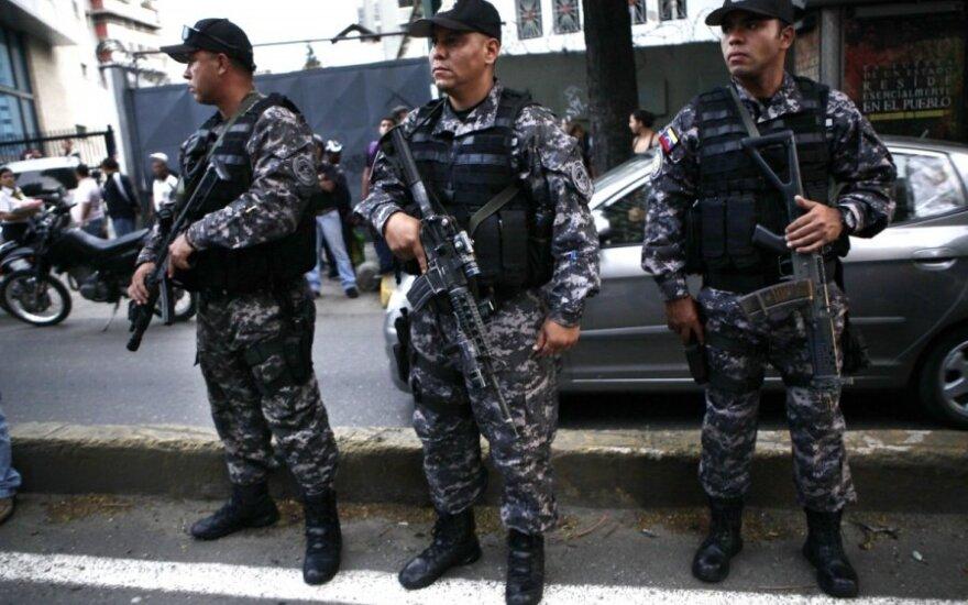 Policininkai Venesueloje