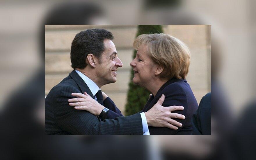 А.Меркель и Н.Саркози за сближение с Россией