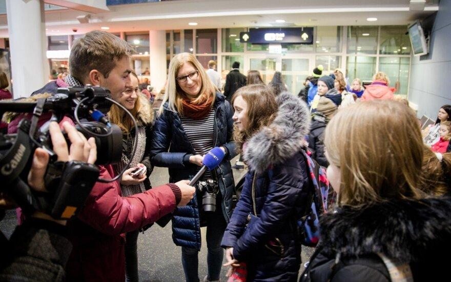 DELFI и 100 детей из детских домов отправились в гости к Санта-Клаусу
