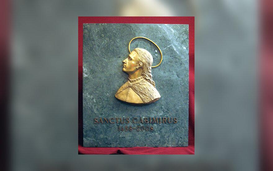 Šv.Kazimiero bareljefas