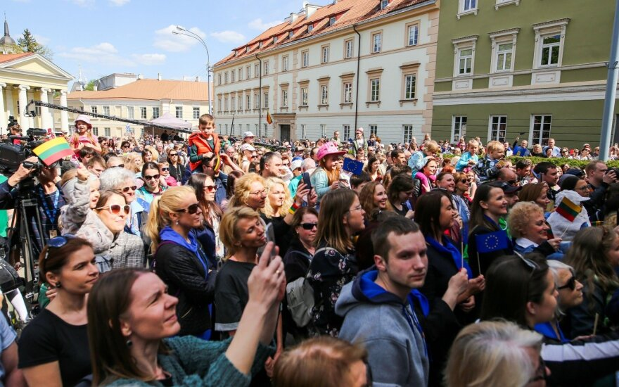 В Вильнюсе отмечают 15-летие со дня вступления Литвы в Евросоюз