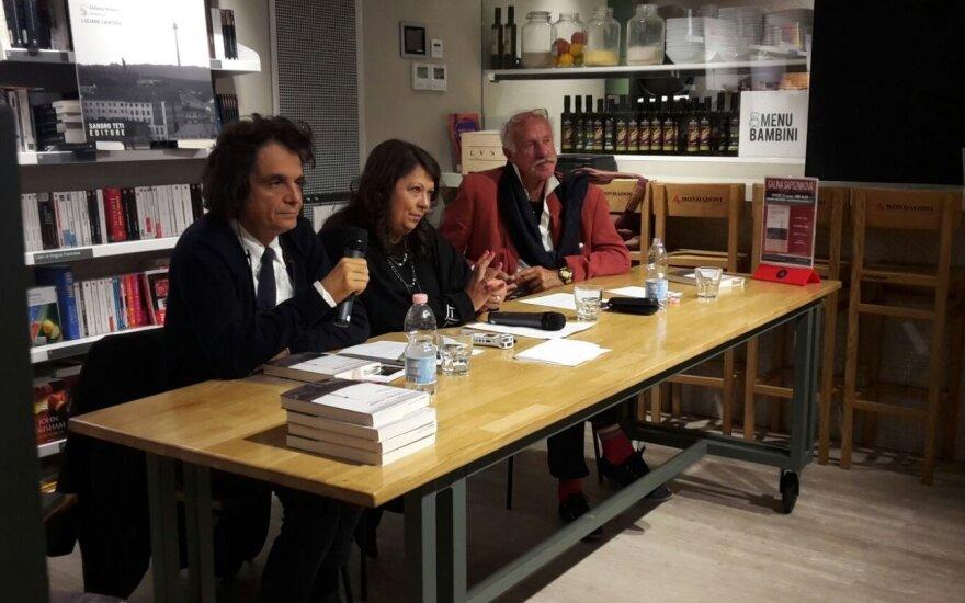 Galinos Sapožnikovos knygos pristatymas Italijoje (itlietuviai.it nuotr.)