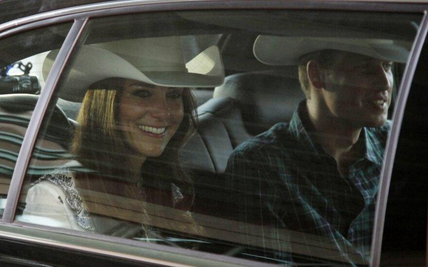 Принц Уильям с супругой начали первый официальный визит в США