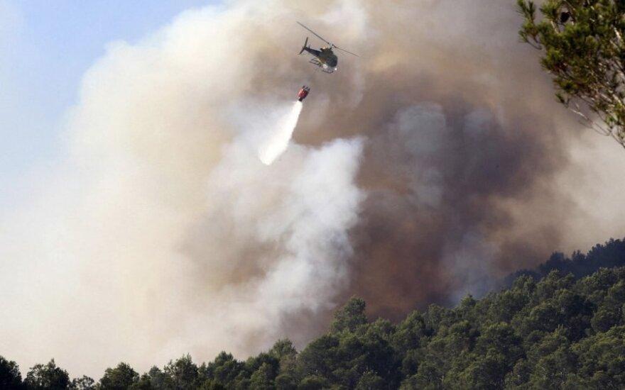 Ispanijos miškų gaisrai