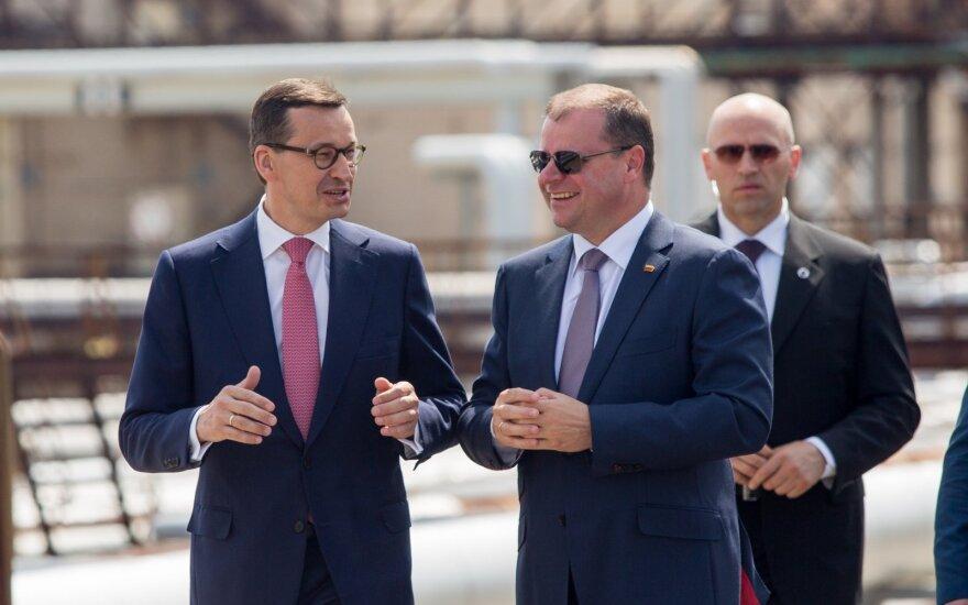 Правительства Литвы и Польши обещают поддержку жителям Беларуси