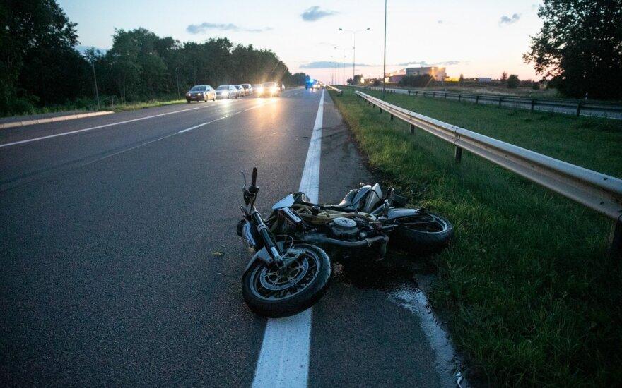 В столице в ДТП погиб мотоциклист